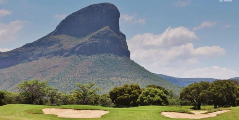 extrema golfbanor i Sydafrika