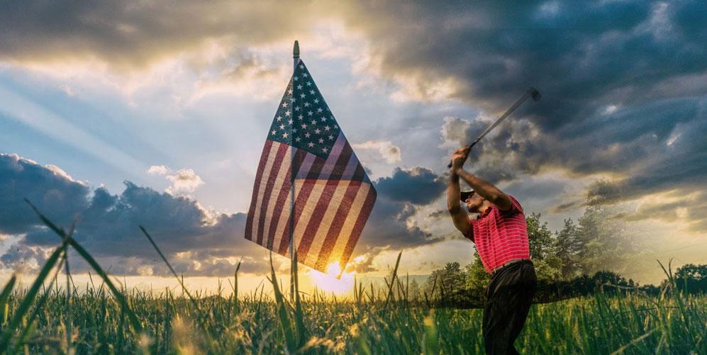bästa golfbanor i USA