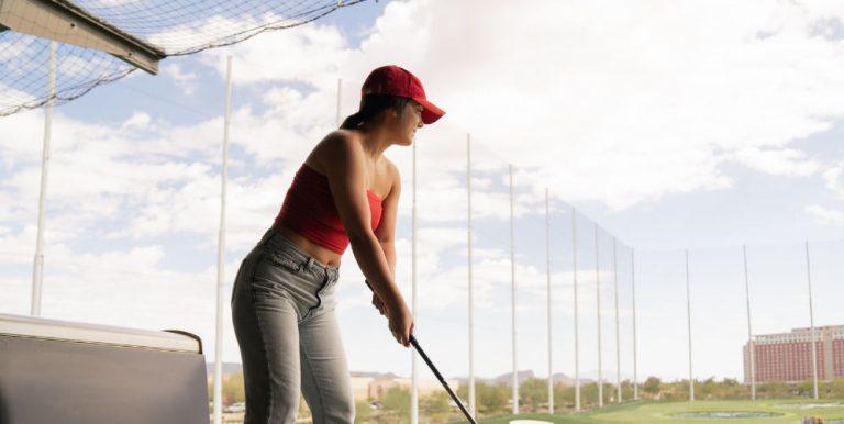 golf uppvärmning
