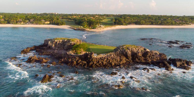 golfbana i mexiko